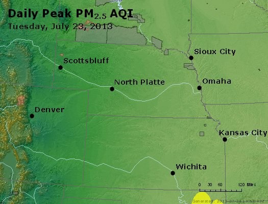 Peak Particles PM2.5 (24-hour) - https://files.airnowtech.org/airnow/2013/20130723/peak_pm25_ne_ks.jpg