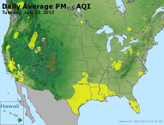 Peak Particles PM2.5 (24-hour) - https://files.airnowtech.org/airnow/2013/20130723/peak_pm25_usa.jpg