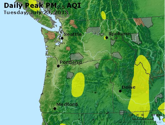 Peak Particles PM2.5 (24-hour) - https://files.airnowtech.org/airnow/2013/20130723/peak_pm25_wa_or.jpg