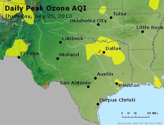 Peak Ozone (8-hour) - https://files.airnowtech.org/airnow/2013/20130725/peak_o3_tx_ok.jpg