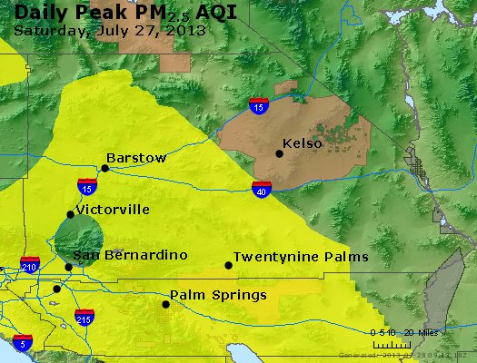 Peak Particles PM<sub>2.5</sub> (24-hour) - https://files.airnowtech.org/airnow/2013/20130727/peak_pm25_sanbernardino_ca.jpg