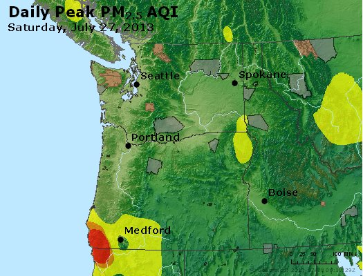 Peak Particles PM2.5 (24-hour) - https://files.airnowtech.org/airnow/2013/20130727/peak_pm25_wa_or.jpg