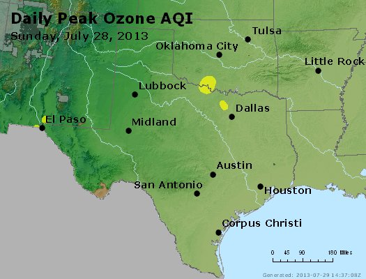 Peak Ozone (8-hour) - https://files.airnowtech.org/airnow/2013/20130728/peak_o3_tx_ok.jpg