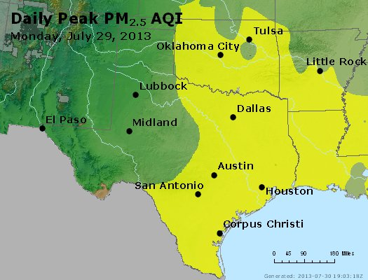 Peak Particles PM2.5 (24-hour) - https://files.airnowtech.org/airnow/2013/20130729/peak_pm25_tx_ok.jpg