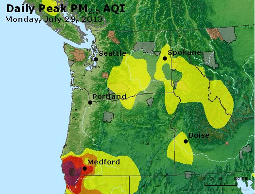 Peak Particles PM2.5 (24-hour) - https://files.airnowtech.org/airnow/2013/20130729/peak_pm25_wa_or.jpg