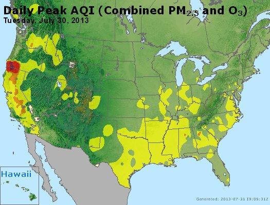 Peak AQI - https://files.airnowtech.org/airnow/2013/20130730/peak_aqi_usa.jpg