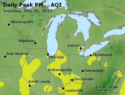 Peak Particles PM2.5 (24-hour) - https://files.airnowtech.org/airnow/2013/20130730/peak_pm25_mi_in_oh.jpg