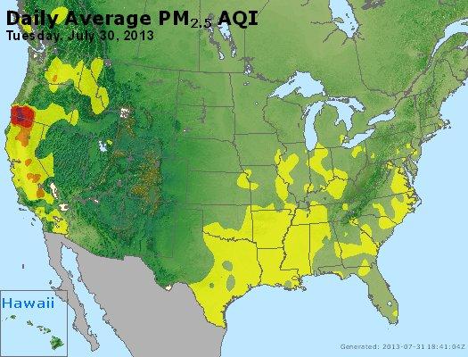 Peak Particles PM2.5 (24-hour) - https://files.airnowtech.org/airnow/2013/20130730/peak_pm25_usa.jpg