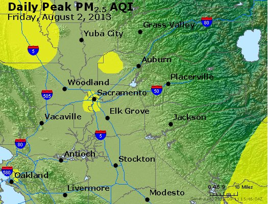 Peak Particles PM<sub>2.5</sub> (24-hour) - https://files.airnowtech.org/airnow/2013/20130802/peak_pm25_sacramento_ca.jpg