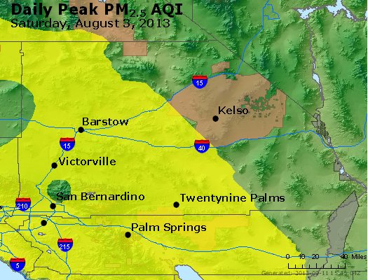 Peak Particles PM<sub>2.5</sub> (24-hour) - https://files.airnowtech.org/airnow/2013/20130803/peak_pm25_sanbernardino_ca.jpg