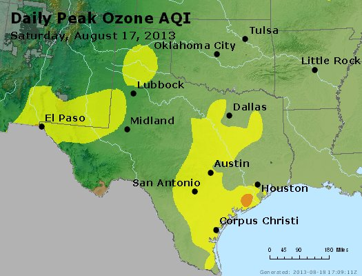 Peak Ozone (8-hour) - https://files.airnowtech.org/airnow/2013/20130817/peak_o3_tx_ok.jpg
