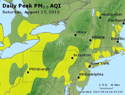 Peak Particles PM<sub>2.5</sub> (24-hour) - https://files.airnowtech.org/airnow/2013/20130817/peak_pm25_ny_pa_nj.jpg