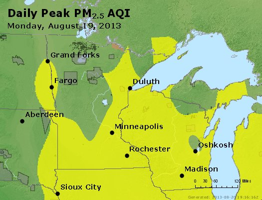 Peak Particles PM2.5 (24-hour) - https://files.airnowtech.org/airnow/2013/20130819/peak_pm25_mn_wi.jpg