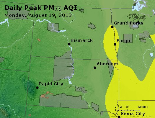 Peak Particles PM2.5 (24-hour) - https://files.airnowtech.org/airnow/2013/20130819/peak_pm25_nd_sd.jpg