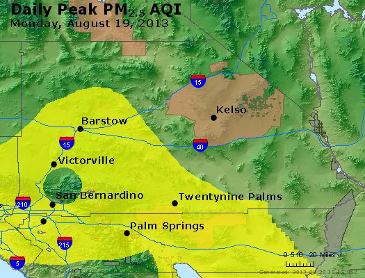 Peak Particles PM<sub>2.5</sub> (24-hour) - https://files.airnowtech.org/airnow/2013/20130819/peak_pm25_sanbernardino_ca.jpg