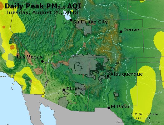 Peak Particles PM2.5 (24-hour) - https://files.airnowtech.org/airnow/2013/20130820/peak_pm25_co_ut_az_nm.jpg