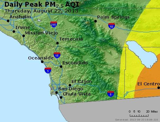 Peak Particles PM2.5 (24-hour) - https://files.airnowtech.org/airnow/2013/20130822/peak_pm25_sandiego_ca.jpg