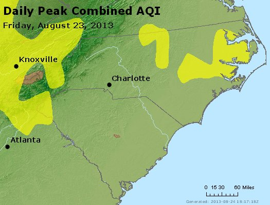 Peak AQI - https://files.airnowtech.org/airnow/2013/20130823/peak_aqi_nc_sc.jpg