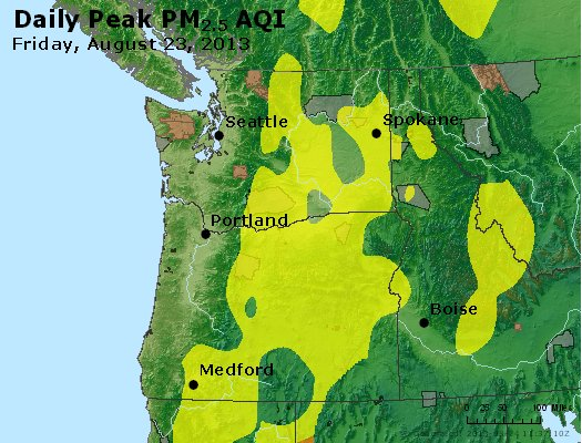 Peak Particles PM2.5 (24-hour) - https://files.airnowtech.org/airnow/2013/20130823/peak_pm25_wa_or.jpg