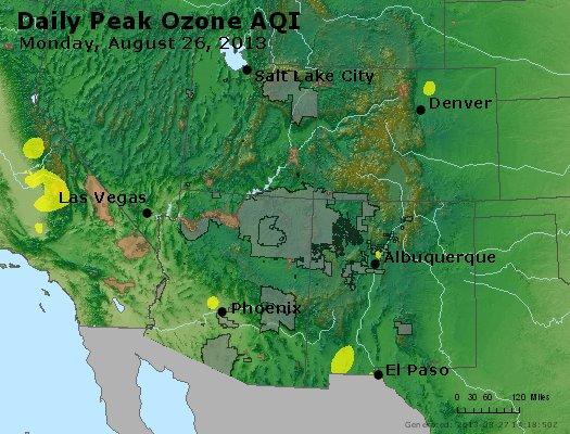 Peak Ozone (8-hour) - https://files.airnowtech.org/airnow/2013/20130826/peak_o3_co_ut_az_nm.jpg