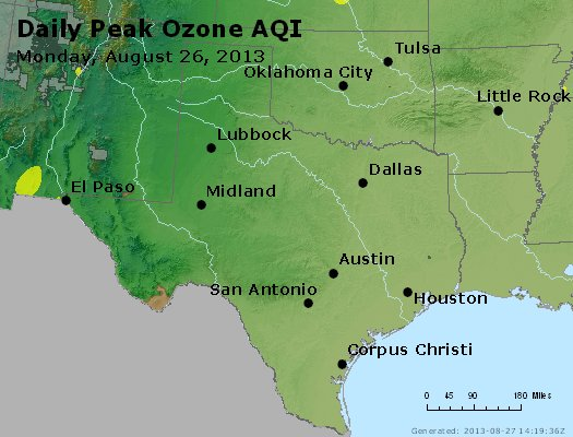 Peak Ozone (8-hour) - https://files.airnowtech.org/airnow/2013/20130826/peak_o3_tx_ok.jpg