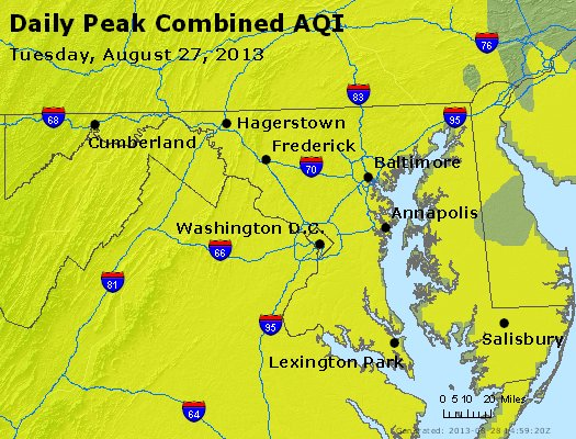 Peak AQI - https://files.airnowtech.org/airnow/2013/20130827/peak_aqi_maryland.jpg