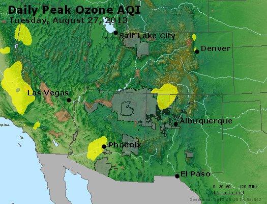 Peak Ozone (8-hour) - https://files.airnowtech.org/airnow/2013/20130827/peak_o3_co_ut_az_nm.jpg