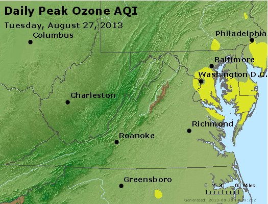 Peak Ozone (8-hour) - https://files.airnowtech.org/airnow/2013/20130827/peak_o3_va_wv_md_de_dc.jpg