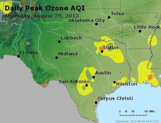 Peak Ozone (8-hour) - https://files.airnowtech.org/airnow/2013/20130829/peak_o3_tx_ok.jpg