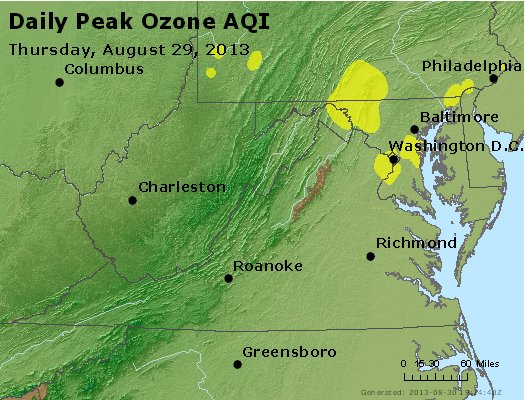 Peak Ozone (8-hour) - https://files.airnowtech.org/airnow/2013/20130829/peak_o3_va_wv_md_de_dc.jpg