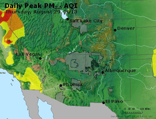 Peak Particles PM2.5 (24-hour) - https://files.airnowtech.org/airnow/2013/20130829/peak_pm25_co_ut_az_nm.jpg