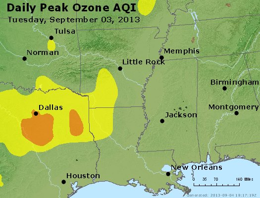 Peak Ozone (8-hour) - https://files.airnowtech.org/airnow/2013/20130903/peak_o3_ar_la_ms.jpg