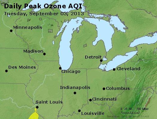 Peak Ozone (8-hour) - https://files.airnowtech.org/airnow/2013/20130903/peak_o3_mi_in_oh.jpg