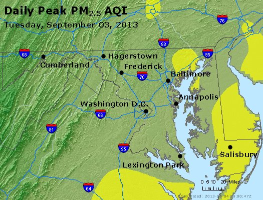 Peak Particles PM2.5 (24-hour) - https://files.airnowtech.org/airnow/2013/20130903/peak_pm25_maryland.jpg
