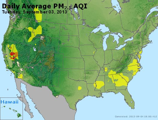 Peak Particles PM2.5 (24-hour) - https://files.airnowtech.org/airnow/2013/20130903/peak_pm25_usa.jpg