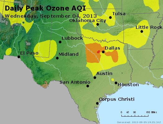Peak Ozone (8-hour) - https://files.airnowtech.org/airnow/2013/20130904/peak_o3_tx_ok.jpg