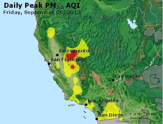 Peak Particles PM2.5 (24-hour) - https://files.airnowtech.org/airnow/2013/20130906/peak_pm25_ca_nv.jpg