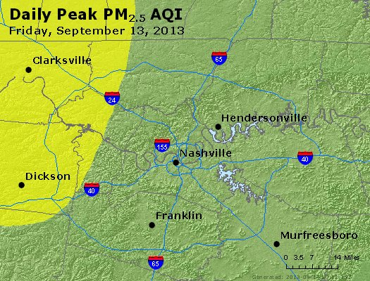 Peak Particles PM<sub>2.5</sub> (24-hour) - https://files.airnowtech.org/airnow/2013/20130913/peak_pm25_nashville_tn.jpg