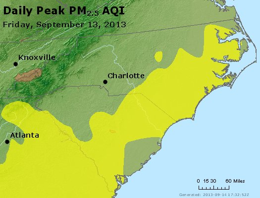 Peak Particles PM2.5 (24-hour) - https://files.airnowtech.org/airnow/2013/20130913/peak_pm25_nc_sc.jpg