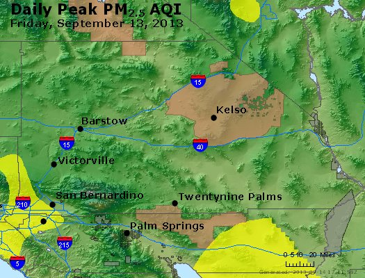 Peak Particles PM<sub>2.5</sub> (24-hour) - https://files.airnowtech.org/airnow/2013/20130913/peak_pm25_sanbernardino_ca.jpg