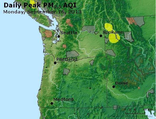 Peak Particles PM<sub>2.5</sub> (24-hour) - https://files.airnowtech.org/airnow/2013/20130916/peak_pm25_wa_or.jpg