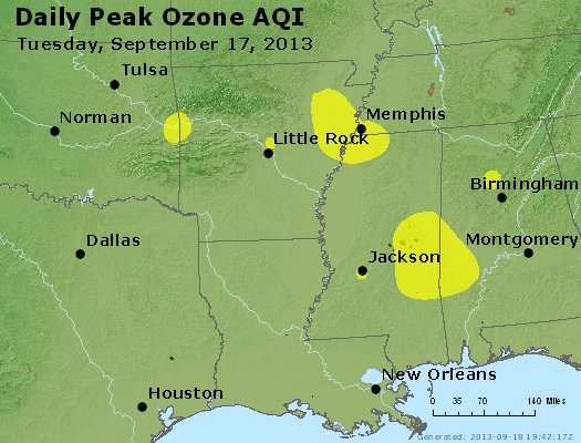 Peak Ozone (8-hour) - https://files.airnowtech.org/airnow/2013/20130917/peak_o3_ar_la_ms.jpg