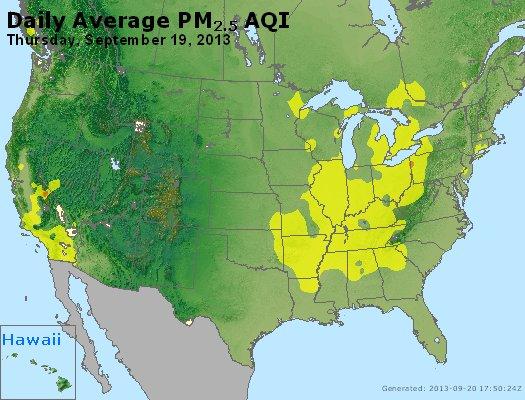 Peak Particles PM<sub>2.5</sub> (24-hour) - https://files.airnowtech.org/airnow/2013/20130919/peak_pm25_usa.jpg