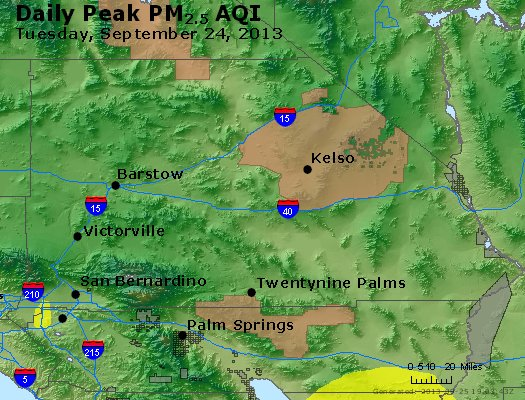 Peak Particles PM<sub>2.5</sub> (24-hour) - https://files.airnowtech.org/airnow/2013/20130924/peak_pm25_sanbernardino_ca.jpg