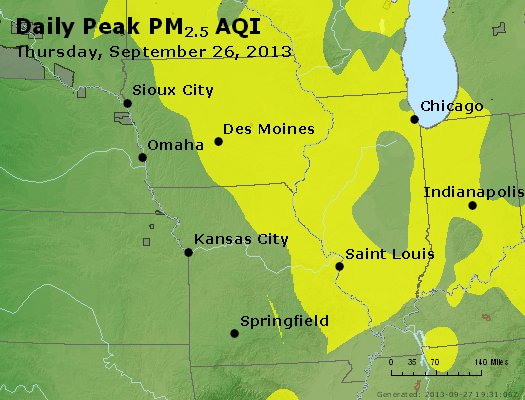 Peak Particles PM<sub>2.5</sub> (24-hour) - https://files.airnowtech.org/airnow/2013/20130926/peak_pm25_ia_il_mo.jpg