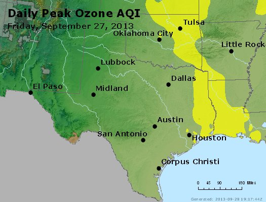 Peak Ozone (8-hour) - https://files.airnowtech.org/airnow/2013/20130927/peak_o3_tx_ok.jpg