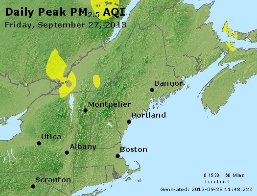 Peak Particles PM<sub>2.5</sub> (24-hour) - https://files.airnowtech.org/airnow/2013/20130927/peak_pm25_vt_nh_ma_ct_ri_me.jpg