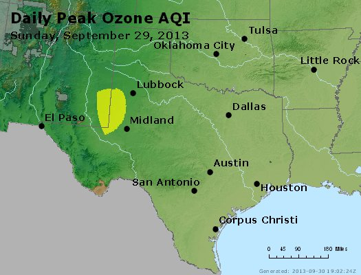 Peak Ozone (8-hour) - https://files.airnowtech.org/airnow/2013/20130929/peak_o3_tx_ok.jpg