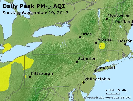 Peak Particles PM<sub>2.5</sub> (24-hour) - https://files.airnowtech.org/airnow/2013/20130929/peak_pm25_ny_pa_nj.jpg