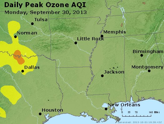 Peak Ozone (8-hour) - https://files.airnowtech.org/airnow/2013/20130930/peak_o3_ar_la_ms.jpg